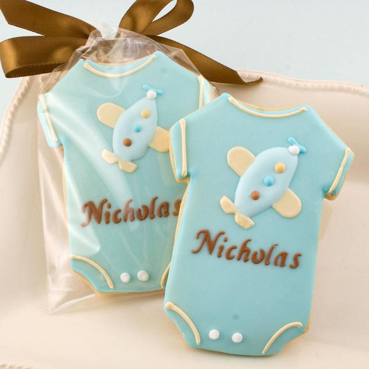 Baby Onesie Cookies By Truly Scrumptious Cookies